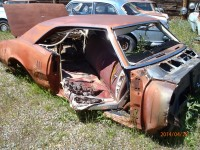1968 Pontiac Firebird parts