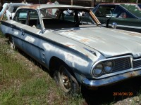 1962 Pontiac Tempest 4 door sedan