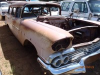1958 Chevrolet 4 door Station Wagon parts