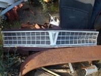 1965 Pontiac Lemans/Tempest Grill/Core Support