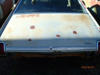 1969 Oldsmobile Cutlass 2 door trunk lid