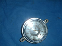 Pontiac Dash Clock