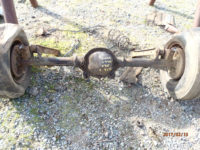 1967 Buick GS 400 rear axle assembly