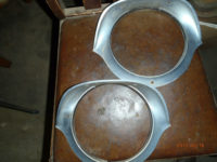 1954 1955 Cadillac Headlight Bezels