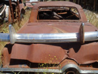 1950 Ford Coupe rear bumper