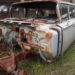 1960 Chevrolet  Station Wagon 3rd rear seat