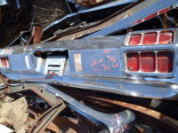 1972 Oldsmobile Cutlass rear bumper